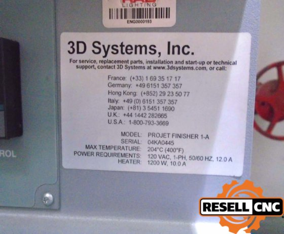 3D Systems Projet 3510 HD 7147 in Maitland, FL, USA