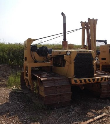 1980 CATERPILLAR D6D LGP in