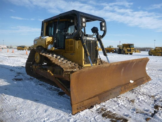 2008 CATERPILLAR D6T LGP in