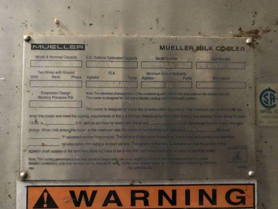 Mueller 6000 gallon in California, USA