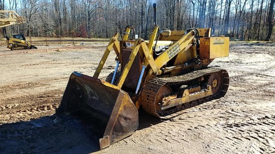 1966 CASE D450 CRAWLER LOADERS 131904 in South