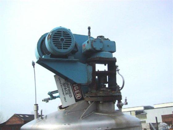 750 GAL. MUELLER REACTOR 2000