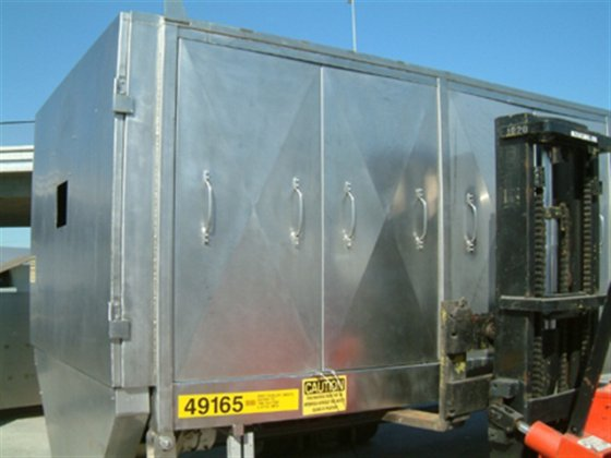 VECTOR WORKHOUSE COOLER/COATER 2840 in