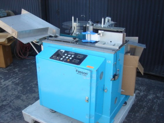 Fasson ST-10D Wrap-around Labeler 4924