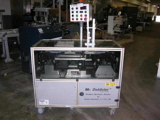 Mr. Deblister Model TMDeblisterer 5263