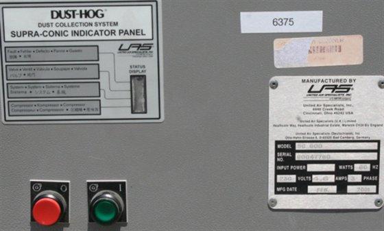 UAS Dust-Hog 400-700 SCFM Dust