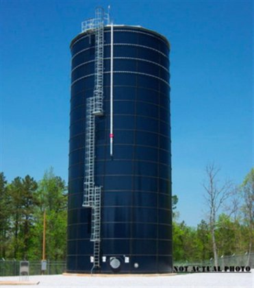 250,000 gallon Stainless steel storage