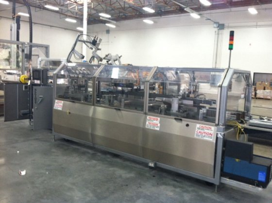 Elliott 2000SL Case Packer in