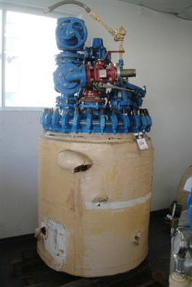PFAUDLER Glass-lined Reactor 200 gallon
