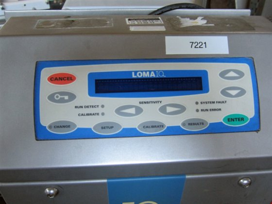 Loma Model IQ Metal Detector