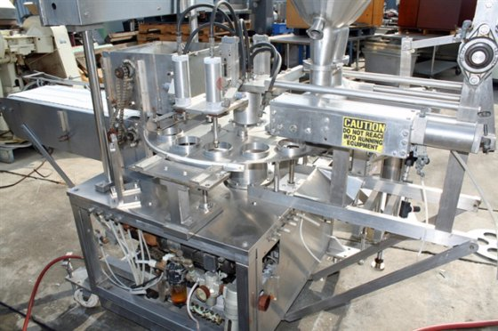 Autoprod Twin Piston Filler/Capper, Model