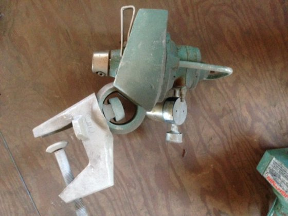 Lightnin Pneumatic Mixer 7321 in