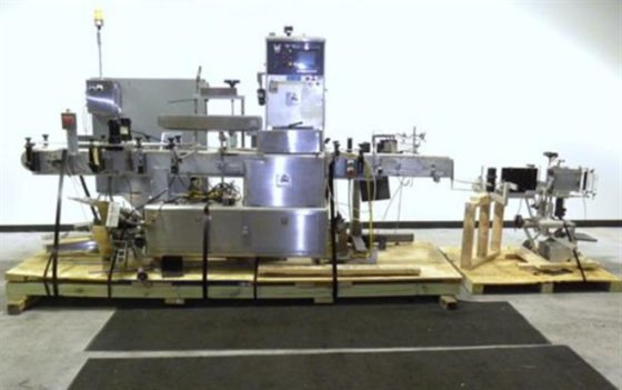 Accraply 4000 PW Labeler in
