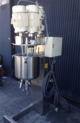 FRYMA VME-50 Liter jacketed, Process