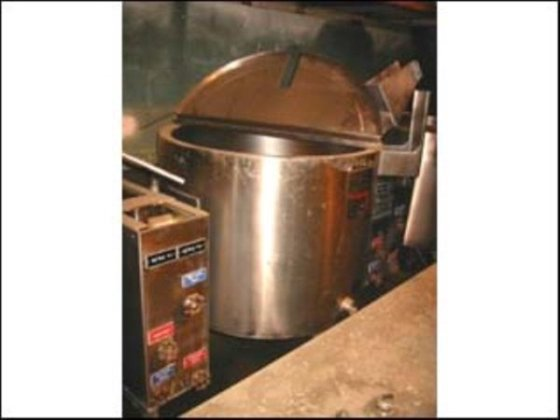 60 GAL LEE KETTLE, S/S,