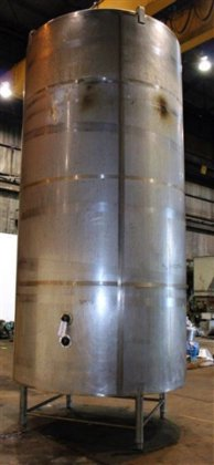 4,000 gallon DCI Jacketed Tank