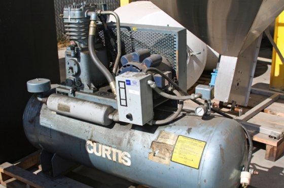 Curtis 5 h.p. 200 psi