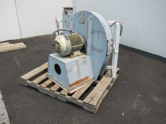 Used blower skid 7717 in