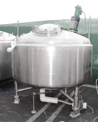 2000 Liter Stainless Steel DCI