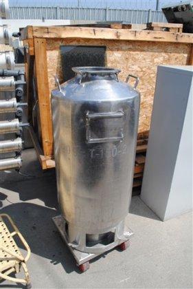 Schweitzer 40 gal. Stainless Steel