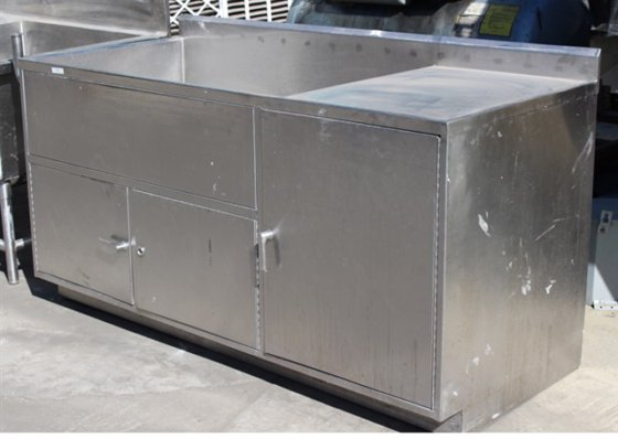 Stainless Steel Washing Table 74""