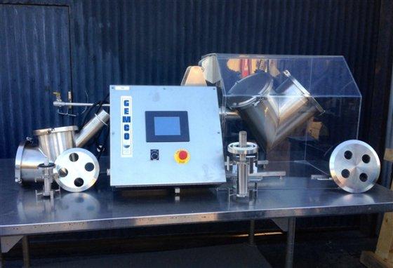Gemco Lab V-Blender w/ 5