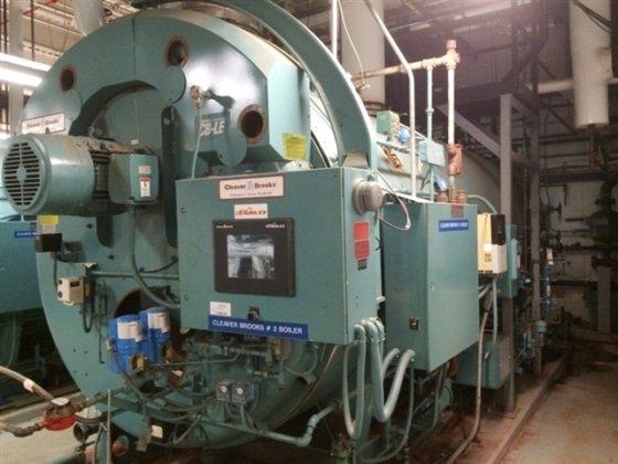 Cleaver Brooks CBI-200-350-150 350Hp Steam