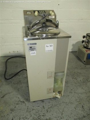 52 Liter Hirayama Autoclave, Model