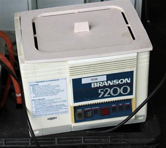 Branson 5200 Ultrasonic Bath 8036