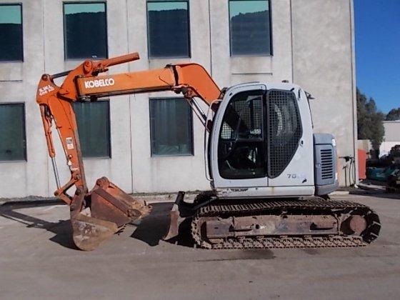 Kobelco SK70SR-1E in Campbellfield, Australia