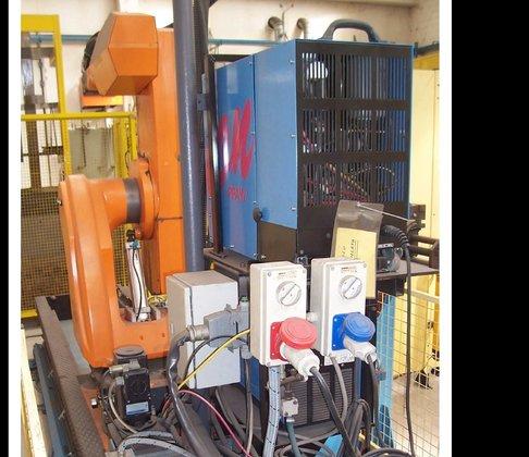 Robot ROMAT 310 plant in
