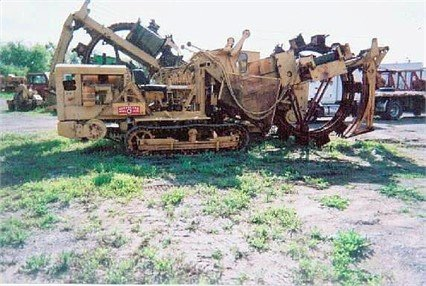 1982 CLEVELAND JS36 Trencher in