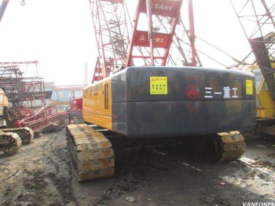 Sany 50T crawler crane SCC500 in Shanghai, China
