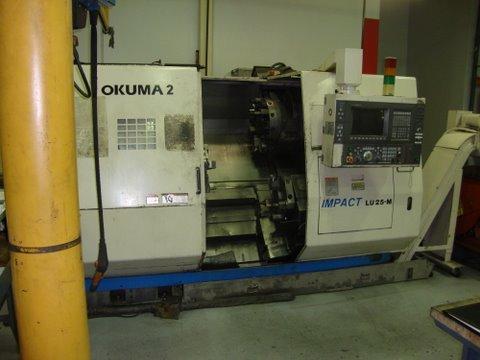 2001 OKUMA LU25M 2ST-400 CNC