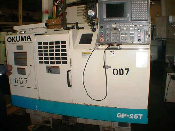 OKUMA GP-25T CYLINDRICAL GRINDER in