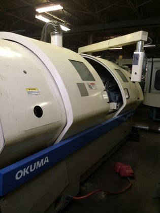 OKUMA Crown L1420 in Livonia,