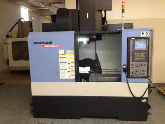 """2011 DOOSAN DNM-400HS 30""""X, 17.1""""Y,"""