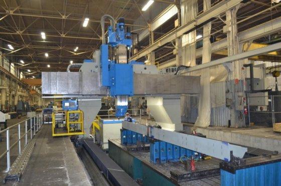 2012 Ingersoll 5-Axis Gantry in