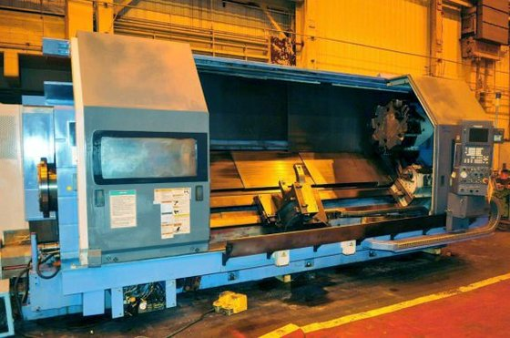 2002 Mazak ST50 CNC in
