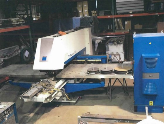 2007 Trumpf TruPunch 1000 in