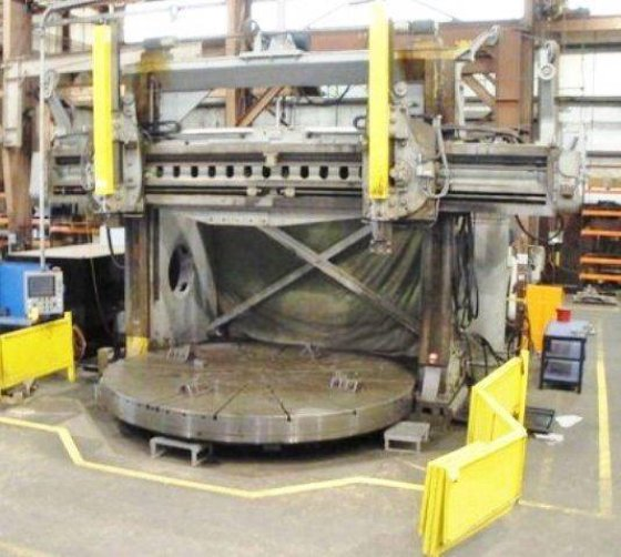 "Niles 168"" Vertical Boring Mill"