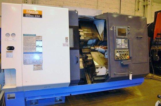 2002 Mazak SQR-200 in Tinicum