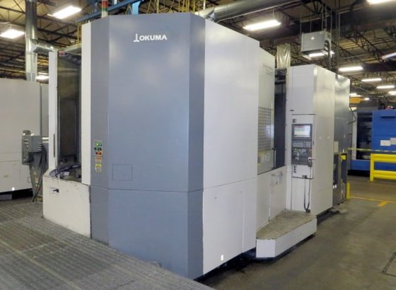 2007 Okuma MA-800HB 4-Axis in
