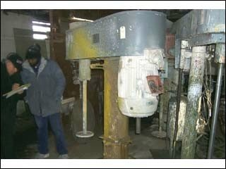 Hockmeyer 40 HP DISPERSER, VARIABLE