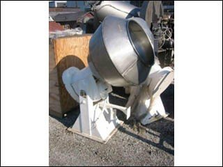 "Colton 36"" COATING PANS, S/S,"