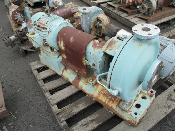 "Goulds Pumps 3196 1.5"" CENTRIFUGAL"