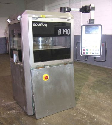 Courtoy R190/30 Tablet Press, Station