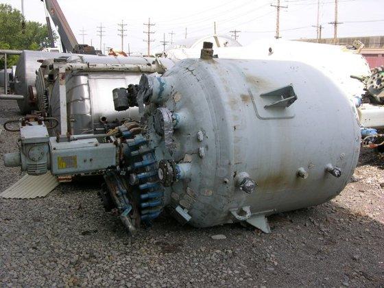 2001 Pfaudler RA60 750 GAL