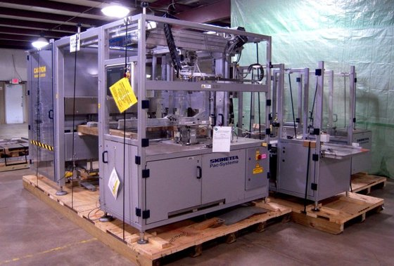 Skinetta PAL 1400 PAC-SYSTEMS PALLETIZER