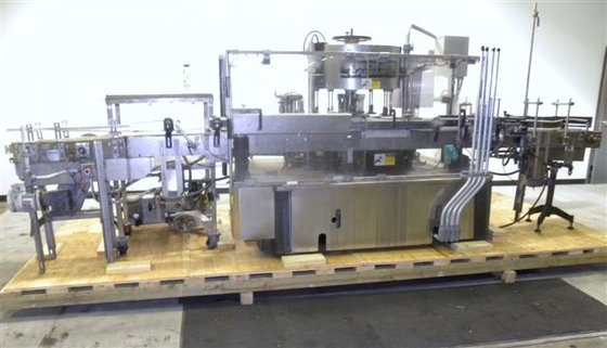 Krones CANMATIC WRAP AROUND LABELER,